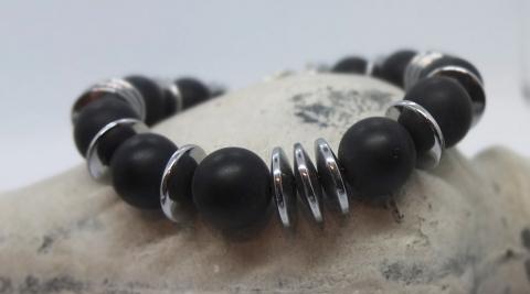 Armband Black Onyx