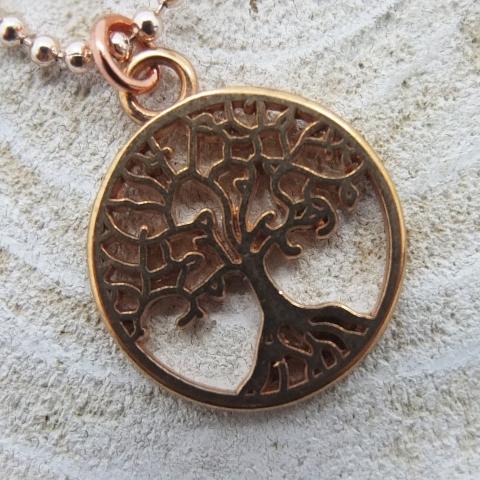 Lebensbaum roségold