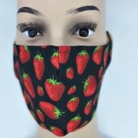 Maske Erdbeeren