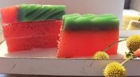 Wassermelone - handgemachte Seife