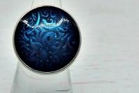 Edelweiss in blau